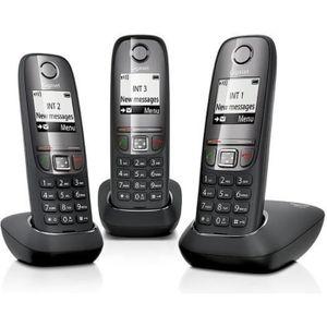 Téléphone fixe Telephone sans fil Gigaset AS415 TRIO NOIR