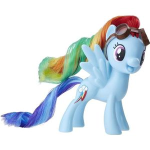 FIGURINE - PERSONNAGE My Little Pony  - Poupee - Poney Bleu Rainbow Dash