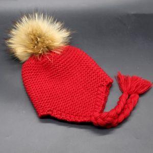 BONNET - CAGOULE LZP60907148RD® Bébé bébé cache-oreilles tricoté ch