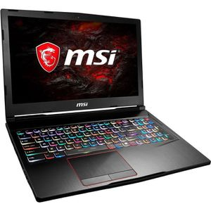 ORDINATEUR PORTABLE MSI PC Portable GE63VR 7RE-066FR - 15,6