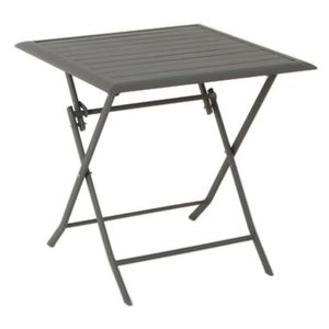 Table terrasse pliante achat vente pas cher for Table de terrasse pliante