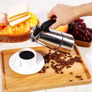 CAFETIÈRE 200ML Cafetière Utilisation de Bureau Maison en Ac