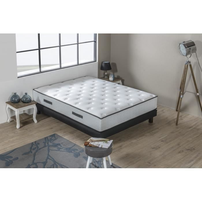 hotel prestige ensemble matelas sommier 140x190 cm ressorts ferme 459 ressorts ensach s. Black Bedroom Furniture Sets. Home Design Ideas