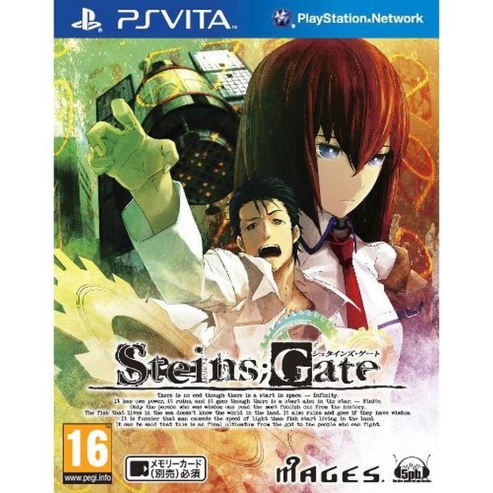 Steins Gate Jeu PS Vita