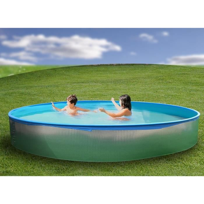 Serie junior piscine ronde paroi rigide 2 40x0 40m achat for Piscine rigide