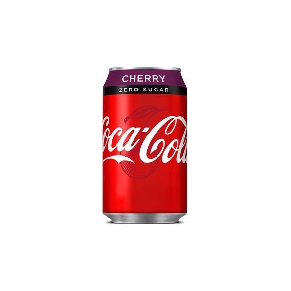 Coca Cola Us Cherry Zero -( 355 Ml X 12 Boîtes )