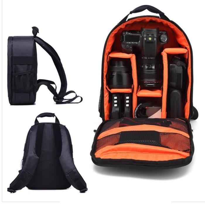 Sac imperméable de sac à dos d'appareil-photo de sac à dos de voyage pour Canon OU