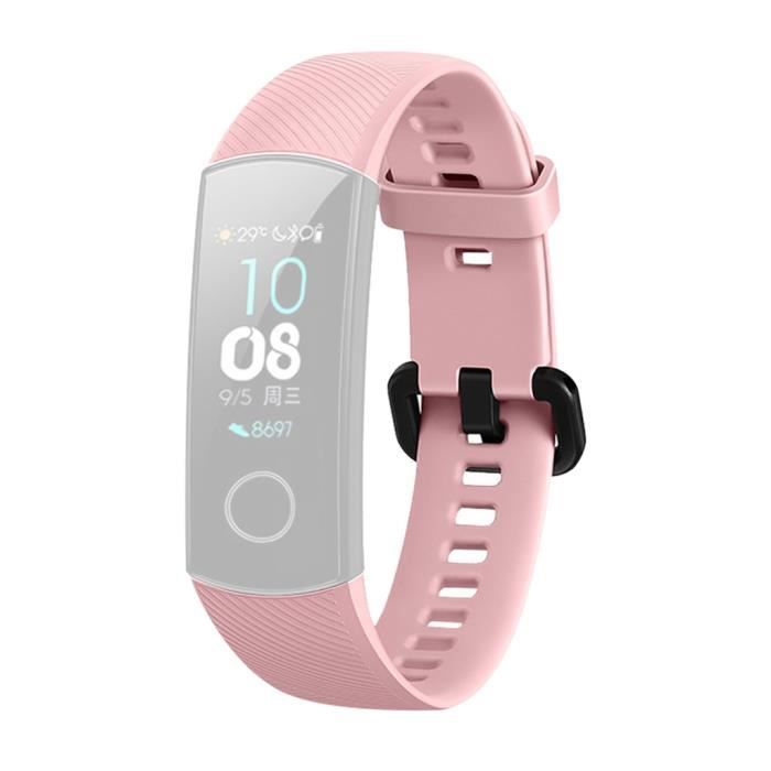 bracelet de montre vendu seul Nouvelle bande de bracelet en silicone pour sports de mode pour montre intelligente Huawei Honor 5