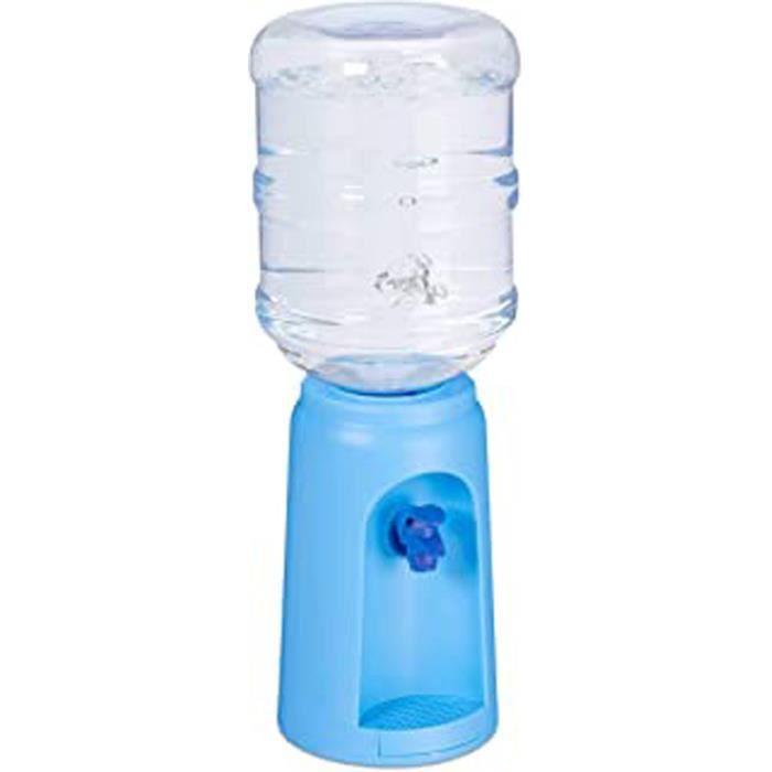 10027938_45, Distributeur D'Eau Avec Réservoir Et Robinet, Fontaine De Bureau, 4,5 L Plastique, H X D: 47,5 X 17 Cm, Bleu, Pp, 1 Élé