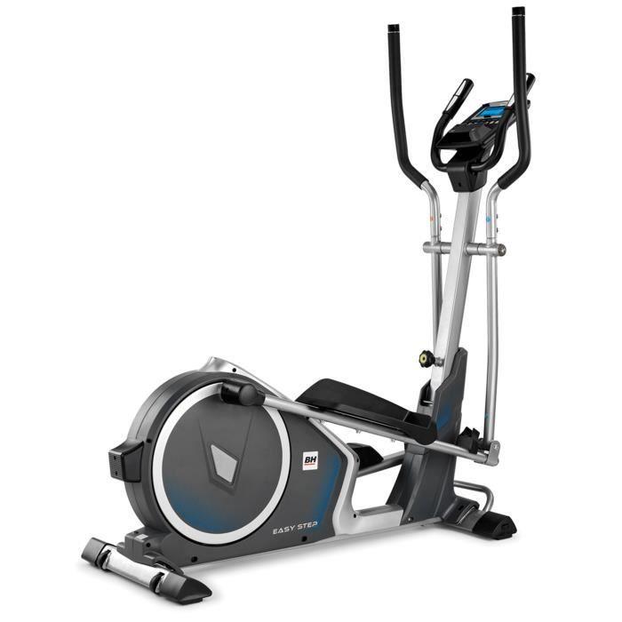 BH Fitness EASYSTEP DUAL G2518 Vélo elliptique - Systéme inertiel 14 Kg - Foulée 38 cm