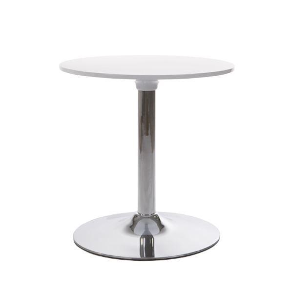 Table de bar SELENGA Blanc