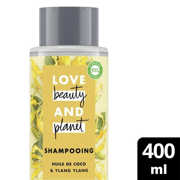 LOVE BEAUTY AND PLANET Shampooing Oasis Réparatrice - 400 ml