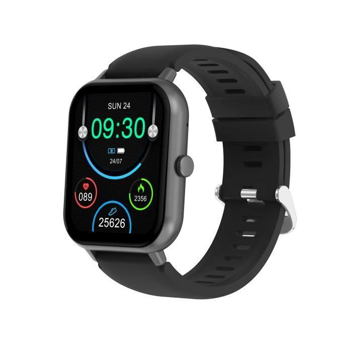 Montre Connecté Sport Professionnelle Android iOS Etanche IP68 16 Modes Sport Fitness Tracker Podometre
