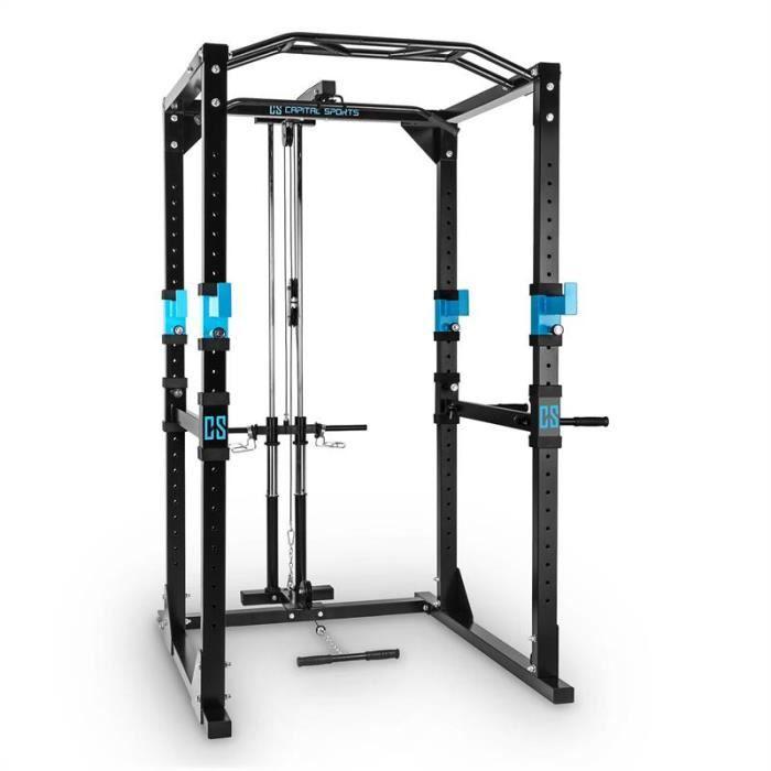 Capital Sports Tremendour Power Rack Home Gym Acier