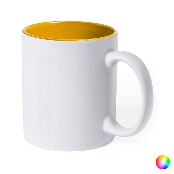 Tasse en Céramique (350 ml) Bicolore 145836 - couleur:Vert
