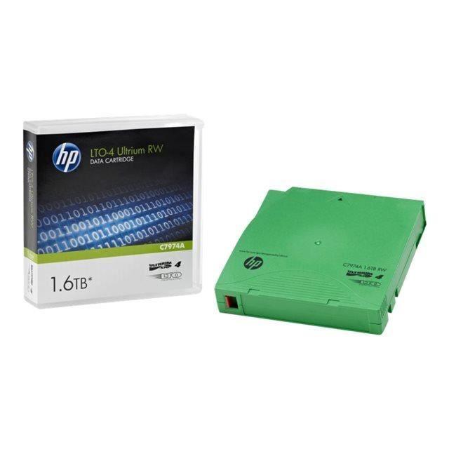 HPE Cartouche de données LTO-41 Pack - 800 Go (Natif) / 1,60 To (compressé)
