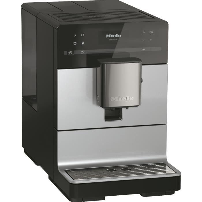 MIELE CM 5510 Silence GR Machine à café automatique avec broyeur à grains - couleur Silver