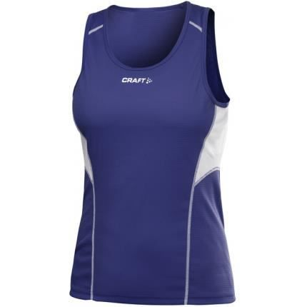 Craft T Shirt Running femme bleu