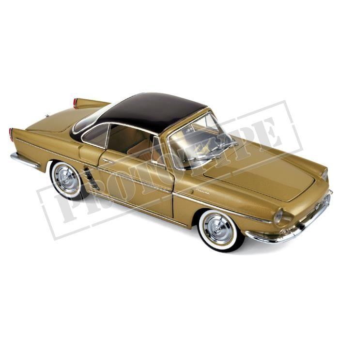 Miniatures montées - Renault Floride jaune Bahamas métallisé 1959 1/18 Norev