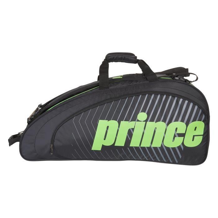 Sac de tennis Prince Tour Future 6R - Couleur:Noir Type Thermobag:6 raquettes