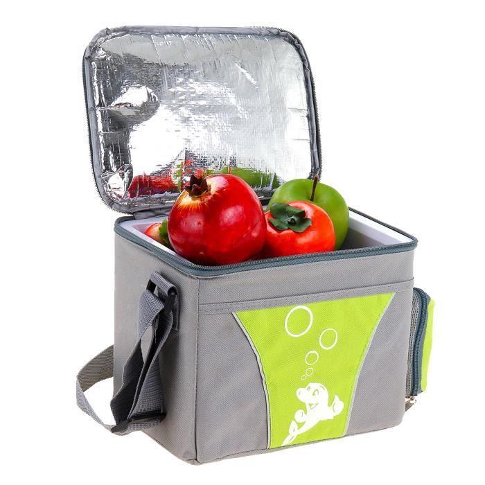 TEMPSA 4L Mini Frigo Réfrigérateur Portable pour Voiture - froid et chaud - Température Réglable 10 à 60 °C