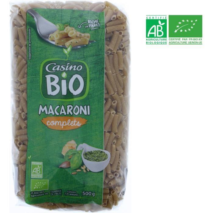 Macaroni complet bio - 500 g