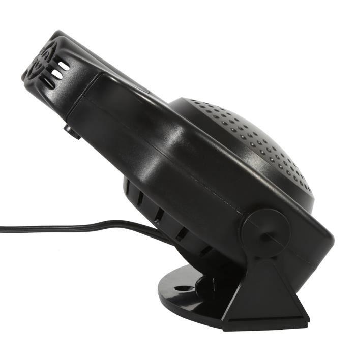2 en 1 Dégivreur de dégivreur de pare-brise de ventilateur de chauffage de véhicule de chauffage de 12V 150W HB022