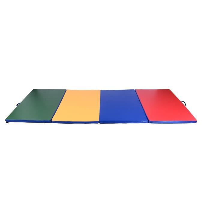 tapis de gymnastique pliable multicolore prix pas cher. Black Bedroom Furniture Sets. Home Design Ideas