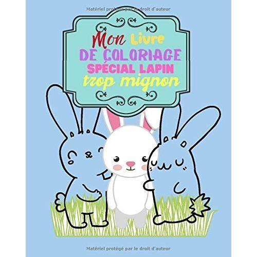Mon Livre De Coloriage Special Lapin Trop Mignon Un Livre De Coloriage Etudie Pour Les Enfants A Partir De 2 Ans Livre Broche Achat Vente Livre De Coloriage Cdiscount