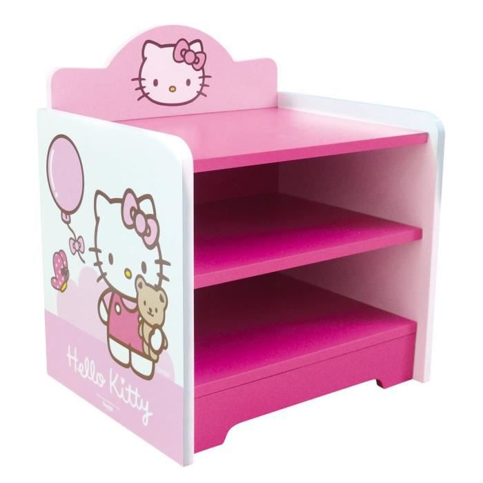 TABLE JOUET D'ACTIVITÉ HELLO KITTY Table de Nuit / Chevet rose