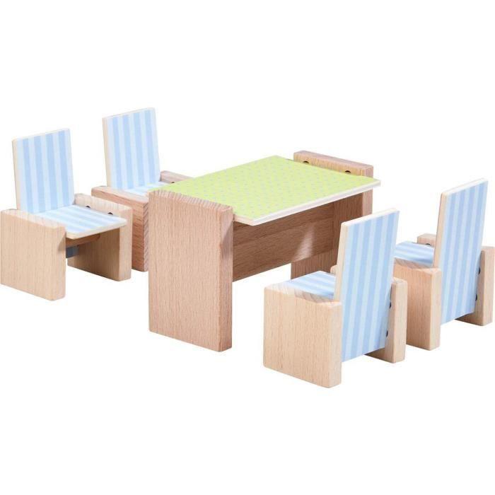 2pcs Cintre Miniature en Bois Accessoires pour Maison de Poupée