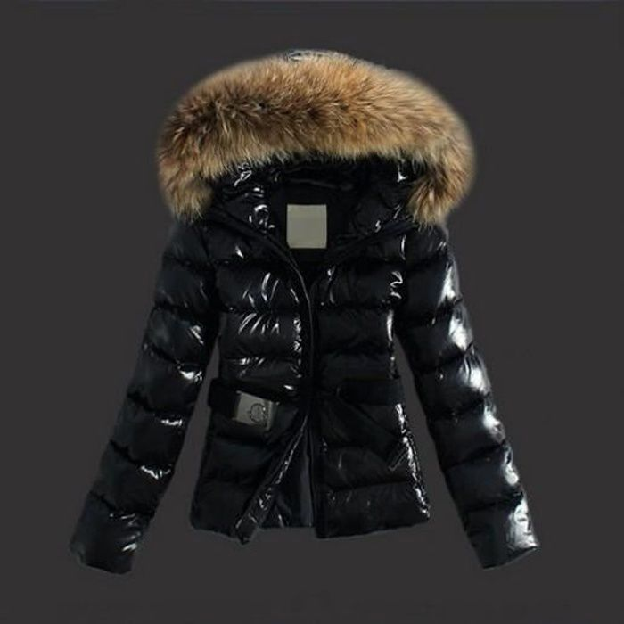 doudoune femme capuche fourrure parka fourrure manteau. Black Bedroom Furniture Sets. Home Design Ideas
