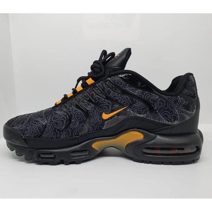 Nike tn orange et noir - Cdiscount