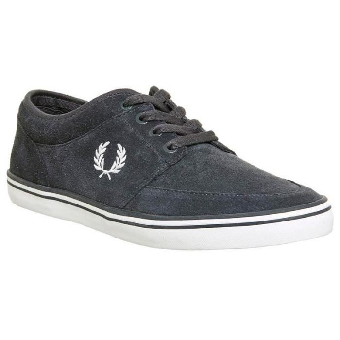 Chaussures Stratford Suede Gris de Fred Perry - Couleur - Marengo, Taille - 45