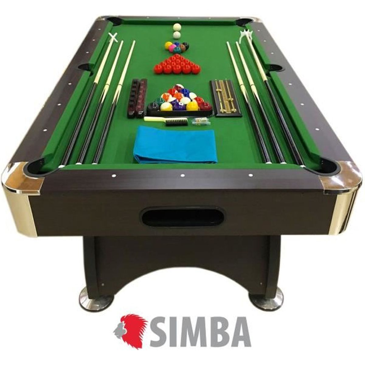 BILLARD BILLARD AMERICAIN NEUF Snooker table de poll bilja