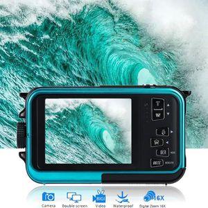 APPAREIL PHOTO COMPACT Caméra Appareil photo numérique étanche 24 MP Enre
