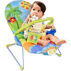 TRANSAT Transat pour Bébé avec Vibrations Apaisantes et Mu