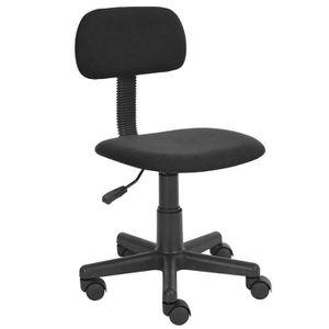 CHAISE DE BUREAU Homy Casa Chaise de bureau avec Roulettes Pivoter