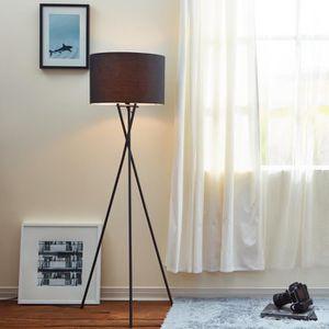 LAMPADAIRE Lampadaire Cara trépied lampe de sol lampe sur pie