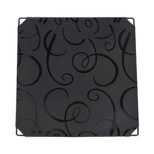 PANNEAU DE RANGEMENT Plaque Plastique Pour Armoire Plastique Noir 35,5