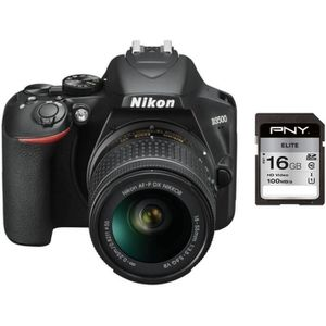 APPAREIL PHOTO RÉFLEX NIKON D3500 Appareil photo Reflex + Objectif AF-P