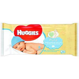 Huggies Pure 18 Packs de 56 lingettes soit 1008 Lingettes