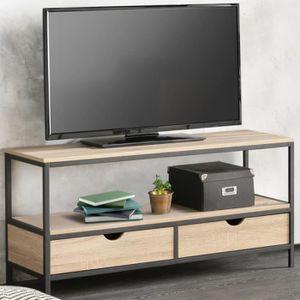 MEUBLE TV Meuble TV DETROIT design industriel