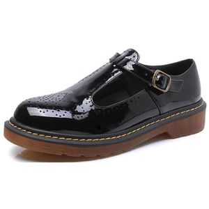 ESCARPIN DADAWEN Femmes  Grande Taille Mary Janes Flats Tal