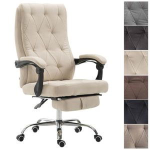 CHAISE DE BUREAU CLP Fauteuil de bureau GEAR en tissu, fauteuil de