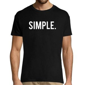 T-SHIRT T Shirt Homme Simple | Collection T-Shirt col Rond