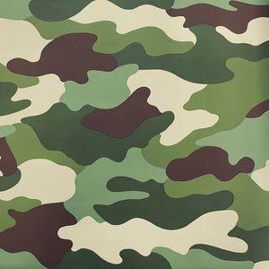 PAPIER PEINT Camouflage Papier Peint 10m
