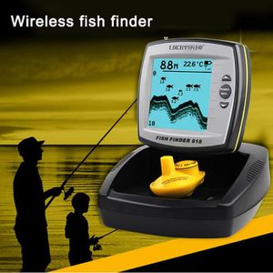 OUTILLAGE PÊCHE LUCKY FF918 Sans Fil 125KHz Sonar Fish Detect Find