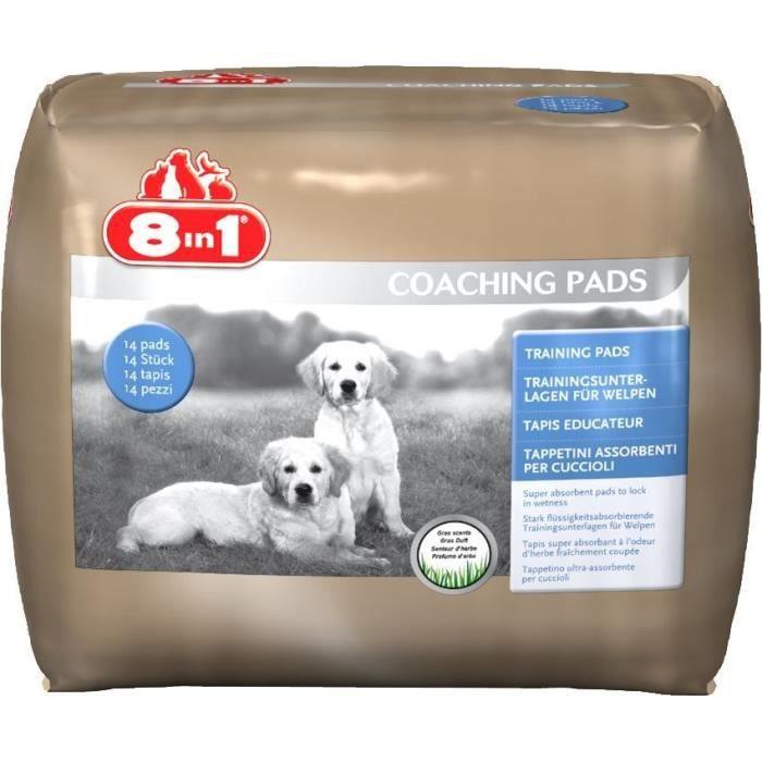8in1 Tapis éducateur 14 tapis - Pour chien - Pack de 12 sacs