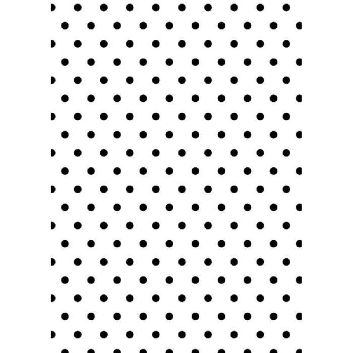 Plaque d'embossage 'On se marie - polka dots' d'Artemio